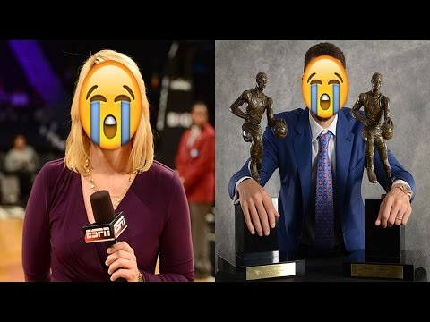 Doris Burke Crying During Finals Interview!