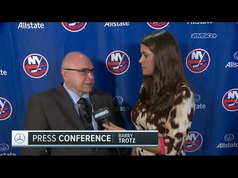 Barry Trotz Discusses Blowout Win Over Kings | New York Islanders | MSG Networks