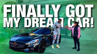 TAKING DELIVERY OF MY Mercedes Benz AMG GT!!!