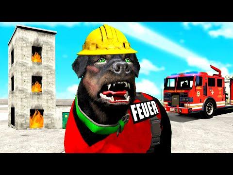 GTA 5 - CHOP wird ein FEUERWEHR HUND!!
