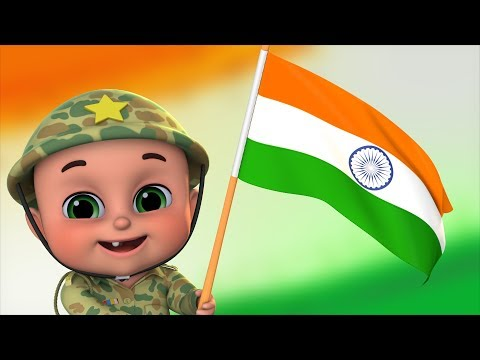 15 August Song 2018 - Independence day video - Sare Jahan Se Acha by jugnu Kids