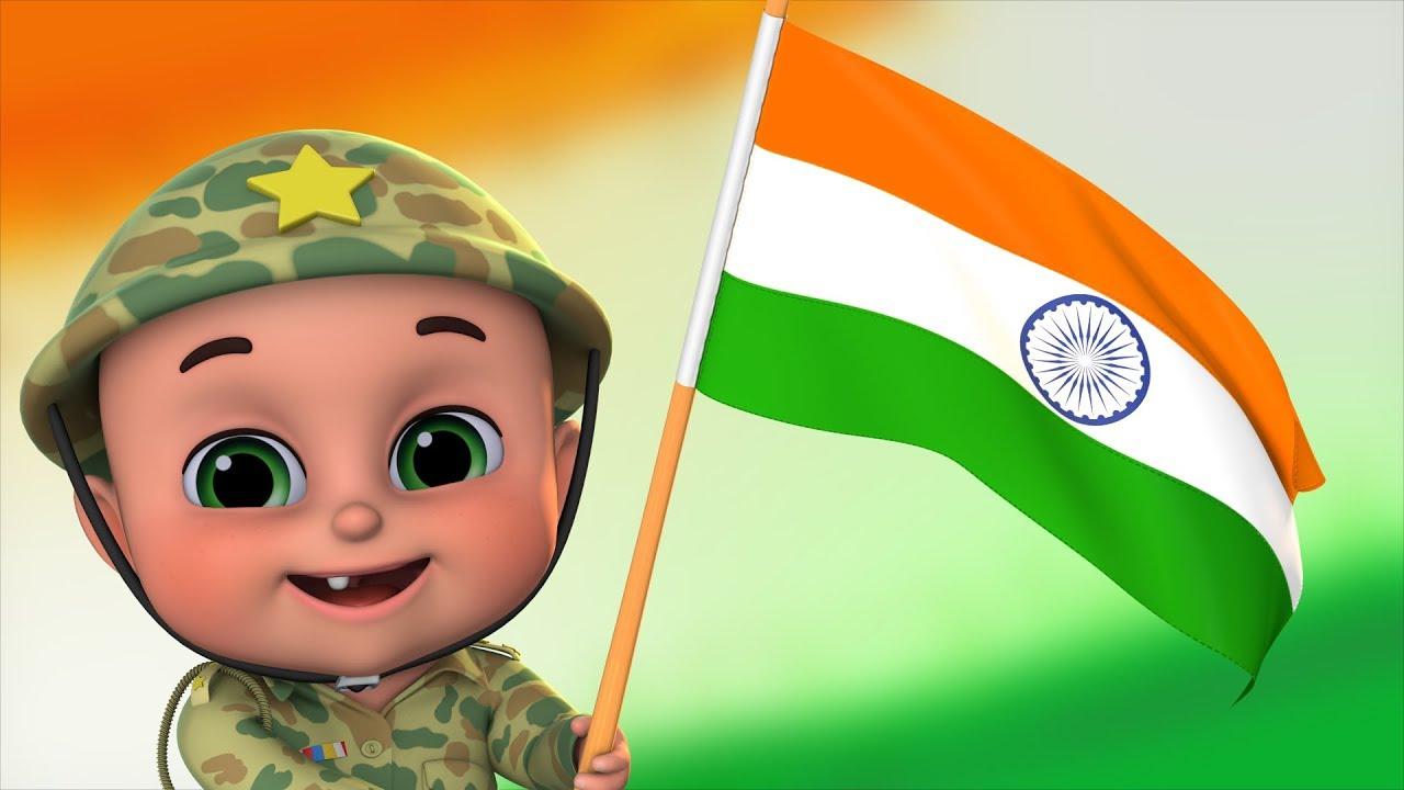 15 August Song 2020 - Independence day video - Sare Jahan Se Acha by jugnu Kids