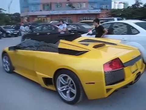 Công ty Ngọc Thảo bàn giao xe Lamborghini Murcielago LP 640 Poadster 2012 cho chồng sắp cưới ca sĩ Mỹ Tâm