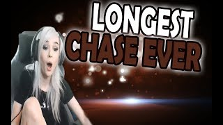 Longest chase EVER | Lilchiipmunk Has the Dumbest Cat Ever | League of Legends Girls Moments #19
