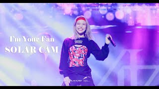 Download lagu 191114 reality in BLACK FAN SHOWCASE I'm Your Fan 솔라직캠 [4k]