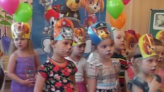 Детский день рождения Щенячий патруль