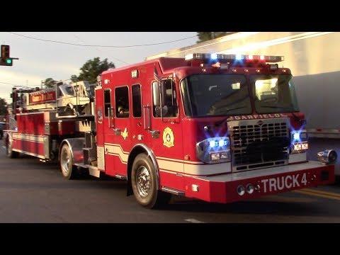 Fire Trucks Responding Compilation Part 27