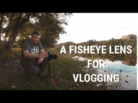 Landscape Photography...Testing The Samyang 7.5 Fisheye Lens For Vlogging