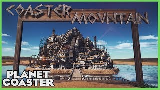 COASTER MOUNTAIN! Park Spotlight 76 #PlanetCoaster