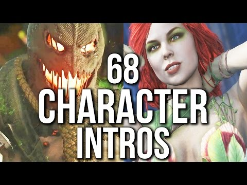 Thumbnail: Injustice 2 - 68 CHARACTER INTROS / INTERACTIONS