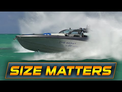 BOAT WITH 2700 HP CRUSHES HAULOVER INLET!   Boats Vs Haulover Inlet