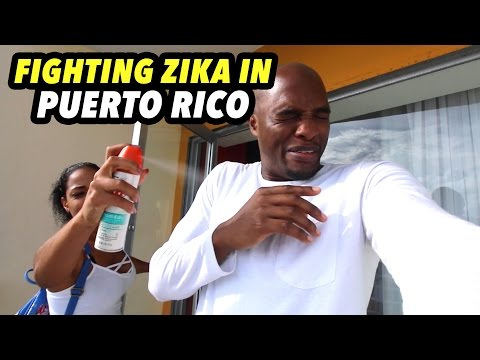 PREVENTING ZIKA IN PUERTO RICO!!