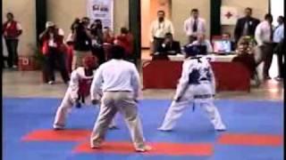 Algimiro Mejias VEN Vs Gabriel Mercedes RD - Taekwondo Juegos ALBA 2007