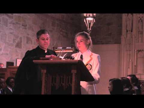 Lea Muller '14 Prefect Speech