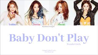 Wonder Girls (원더걸스) - Baby Don't Play [Colour Coded Lyrics H…