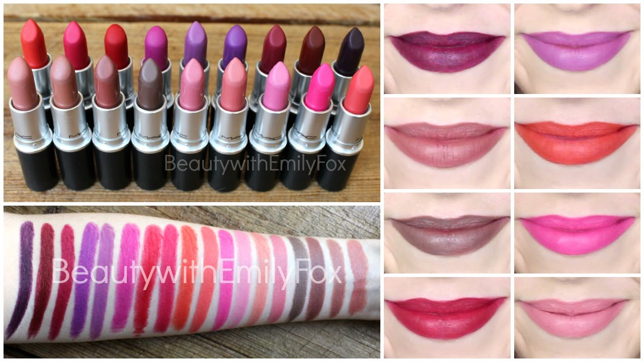 MAC The Matte Lip Collection for Fall 2014