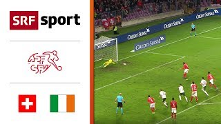 Schweiz - Irland | Highlights - EM-Qualifikation 2020