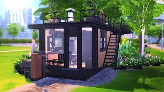 Eco Modern Tiny House || The Sims 4: Speed Build