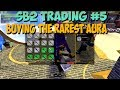 SB2 TRADING #5 - BUYING THE RAREST AURA IN THE GAME FOR 1 MILLION VEL!!!