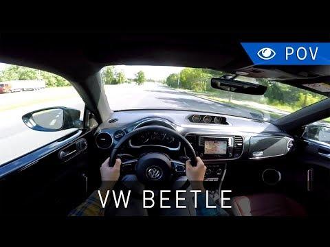 Volkswagen Beetle 2.0 TSI 220 KM R-Line (2017) - POV Drive | Project Automotive
