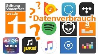 Musik Streaming: Datenverbrauch im Vergleich (Test Streaming-Dienste)