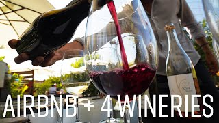Two Days in Napa Wine Country // What's It Cost? AirBnB and Four Wineries