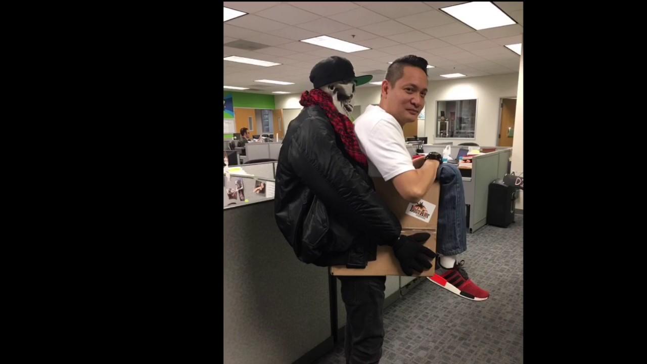 Costume Halloween Man.Man In A Box Costume Halloween 2016