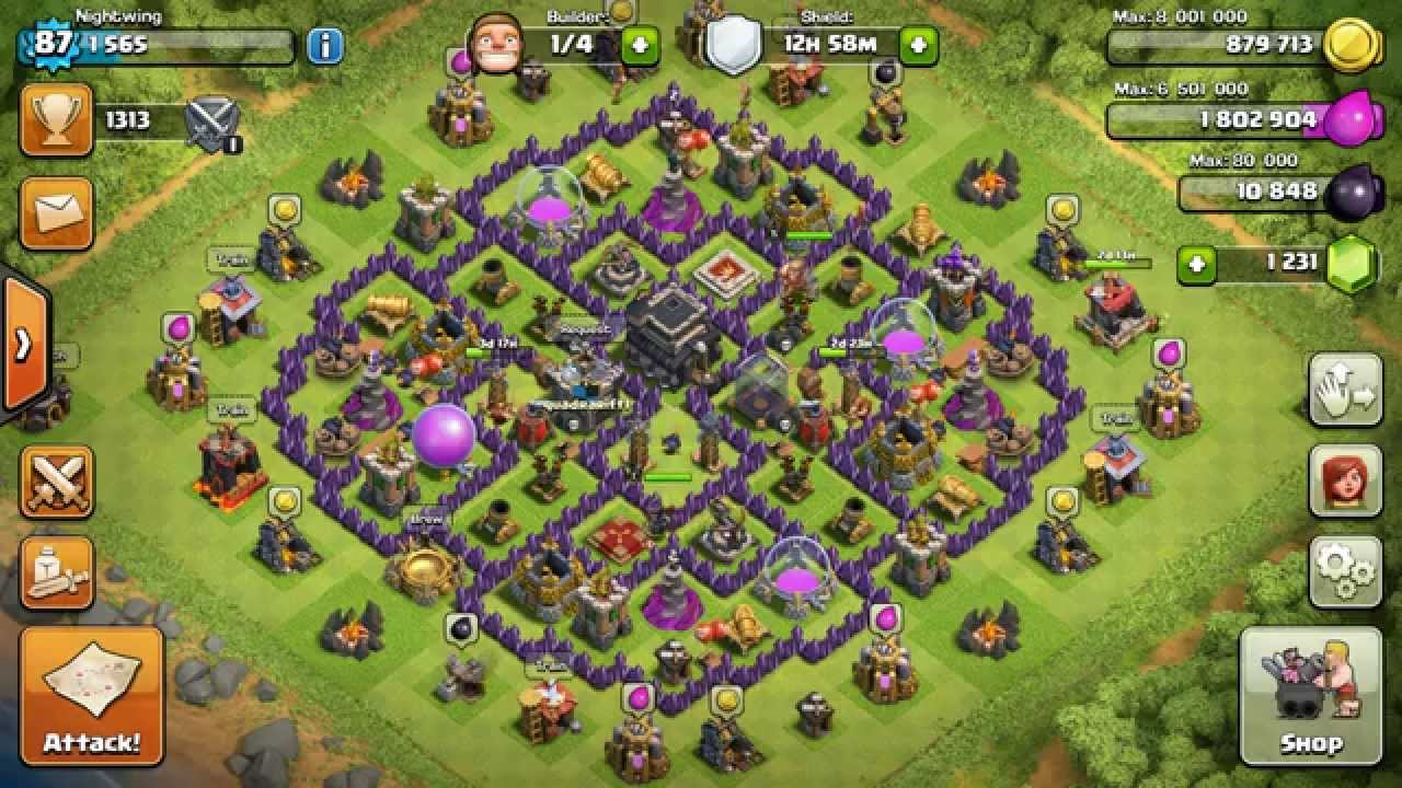 how to get your clash of clans account back youtube. Black Bedroom Furniture Sets. Home Design Ideas