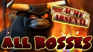 Looney Tunes: Acme Arsenal All Bosses (X360, PS2, Wii)