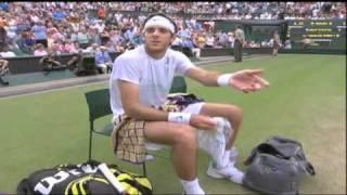 Juan Martín Del Potro vs Rafael Nadal Wimbledon 2011