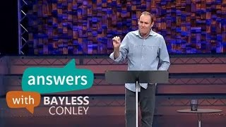 "Bayless Conley sermons 2015 - ""Expecting the Holy Spirit's Help "" - Answer with Bayless Conley"