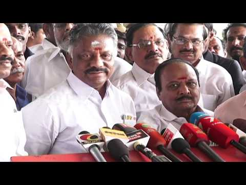 """madhusudhanan defeat at rk nagar election strong action will be taken tamil news,tamil live news,news in tamil, redpix  Chief Minister Edappadi K. Palaniswami and O Panneerselvam are  witnessed the jallikattu at Alanganallur near Madurai on Tuesday. The much-anticipated Jallikkattu at Alanganallur in Madurai district will see the best tamer and rearer take home cars as prizes. """"At the world-famous Alanganallur Jallikkattu, Chief Minister K. Palaniswami will give away a Renault car as prize for the best bull tamer,"""" Tamil Nadu Revenue Minister R.B. Udhayakumar told reporters in Madurai. The best bull rearer will take home a Hyundai car, to be given away by Deputy Chief Minister O. Panneerselvam. While speaking to media o panneerselvam said strong action will be taken on the people responsible for madhusudhanan defeat at rk nagar election  tamil news today #tamilnewslive    For More tamil news, tamil news today, latest tamil news, kollywood news, kollywood tamil news Please Subscribe to red pix 24x7 https://goo.gl/bzRyDm red pix 24x7 is online tv news channel and a free online tv"""