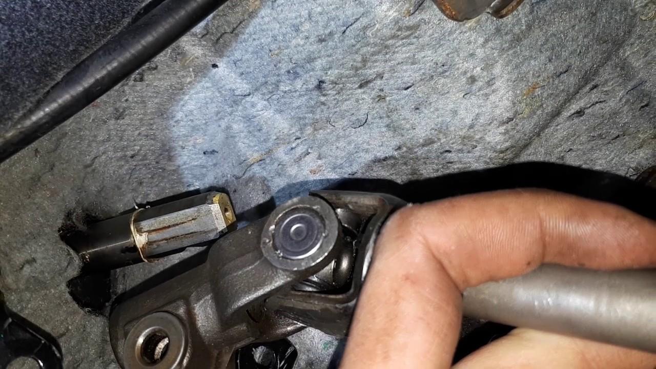рулевой карданчик nissan bluebird замена