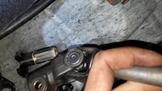Заміна рульового валу Nissan Tiida, Wingroad, Bluebird Sylphy
