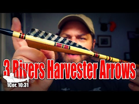Unboxing & Shooting 3Rivers Harvester Cedar Wood Arrows!