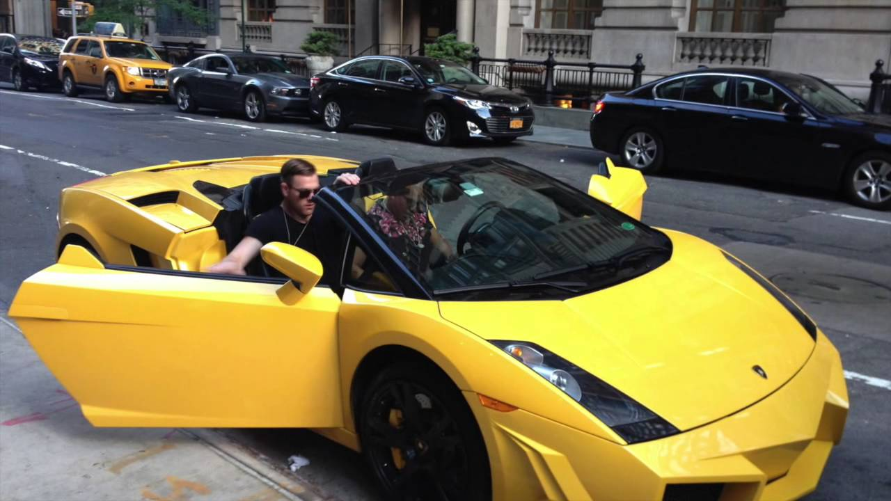 Lamborghini In New York City Youtube