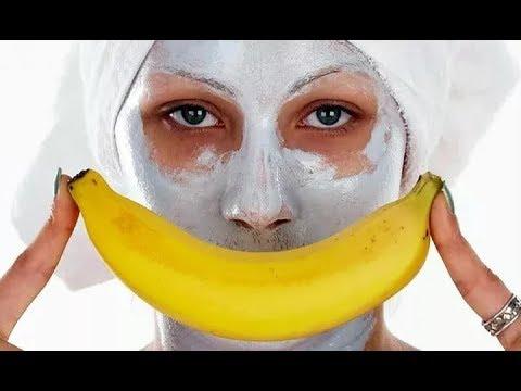 Самые лучшие маски для омоложения кожи. Банан, киви, авокадо.