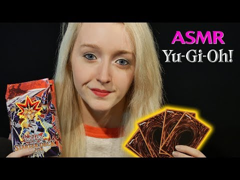 ASMR Yu-Gi-Oh Ramble and Card Shuffling