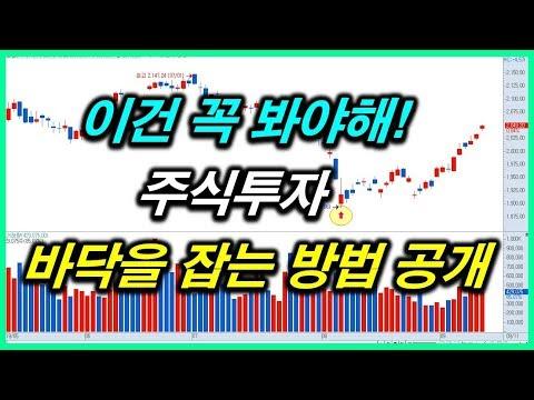 [주식]바닥을 잡는 방법 공개 (9/13)