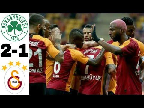 Galatasaray 2-1 Panathinaikos Maç Özeti 03/08/2019