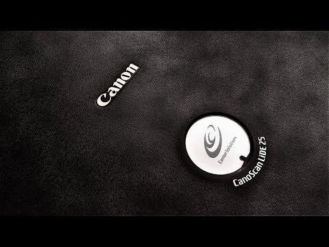 Сканер Canon CanoScan LiDE 25 и родной драйвер в Windows 7-10x64!