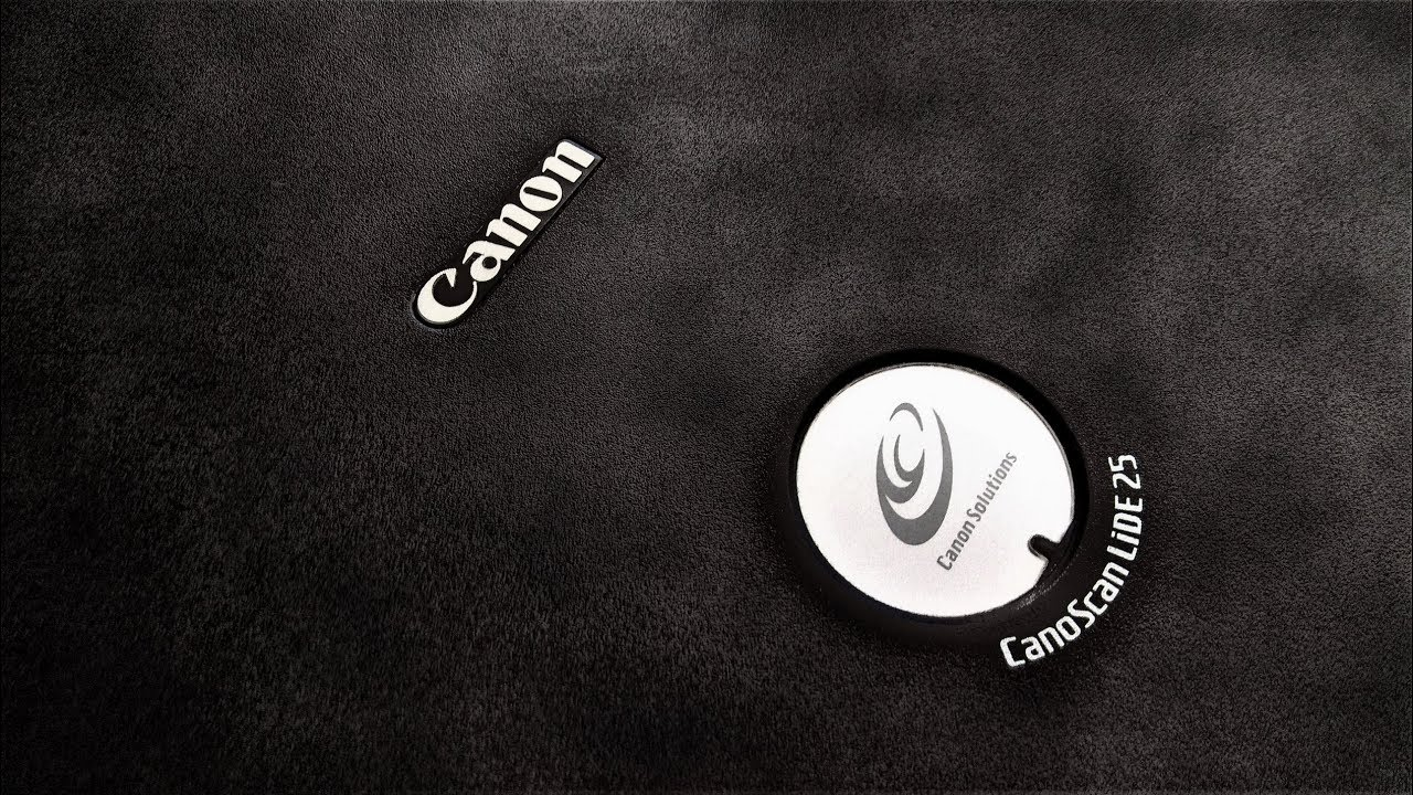 Scanner Canon CanoScan LiDE 25 and native driver in Windows 7-10x64!