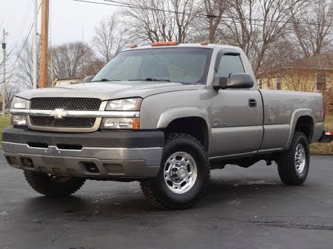 2003 Chevy Silverado 2500HD LS 4x4 REGULAR CAB DURAMAX SOLD!!! - YouTube