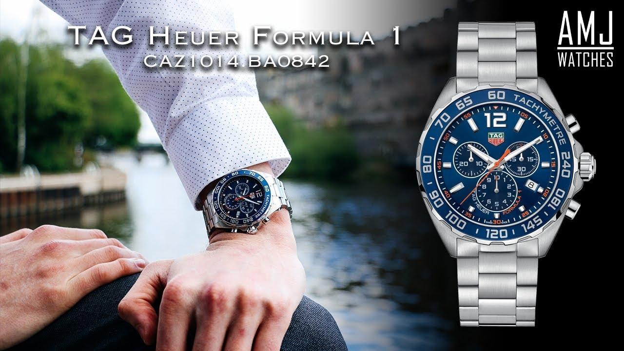 544f8292fe9 TAG Heuer Formula 1 Blue Chronograph (CAZ1014.BA0842) Showcase. AMJ Watches