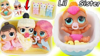 LOL Families Morning Routines - Barbie Toys, School, Baby Goldie Playdates