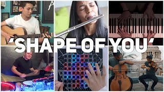 Who Played It Better: Shape Of You (Guitar, Violin, Piano, Flute, Drum, Launchpad)