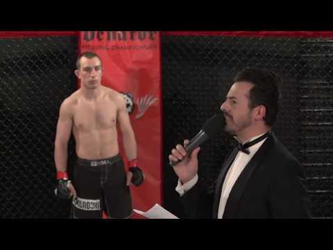 """Ouadia Tergui vs. Davide Baneschi (Lightweights semifinal """"Guerrieri Italiani"""")"""