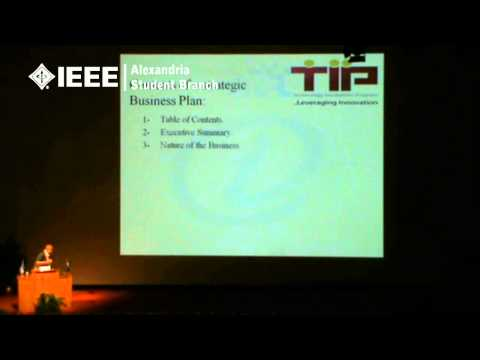 IEEE AlexSB ITW'10 - Day Two - Innovation and Venture Managements 4/7