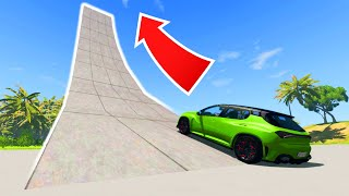 MASSIVE HIGH SPEED RAMP! High Speed Jumps & Crashes!