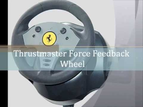 DRIVERS THRUSTMASTER FERRARI FORCE FEEDBACK RACING WHEEL